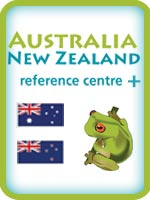 Australia New Zealand reference centre plus logo