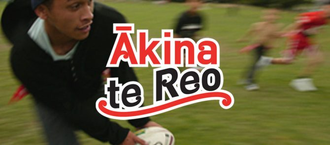 Ākina te reo - support the language