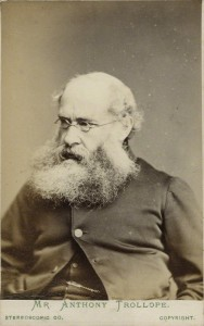 NPG Ax18230; Anthony Trollope by London Stereoscopic & Photographic Company