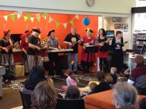 New Brighton Pirate Ukulele Band