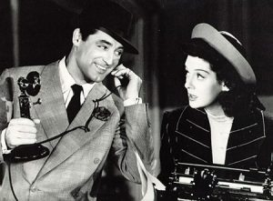 Still from His girl Friday