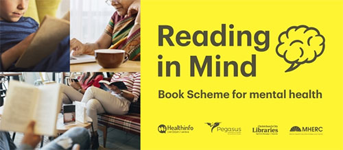 Reading in mind logo