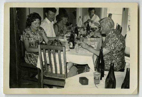 Christmas Dinner, 1962.