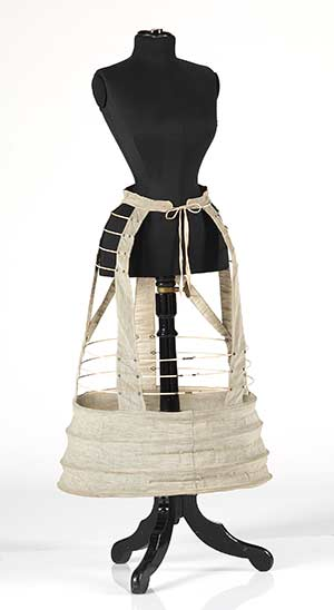 Victorian crinoline