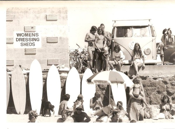 Surf champs, New Brighton, 1970s