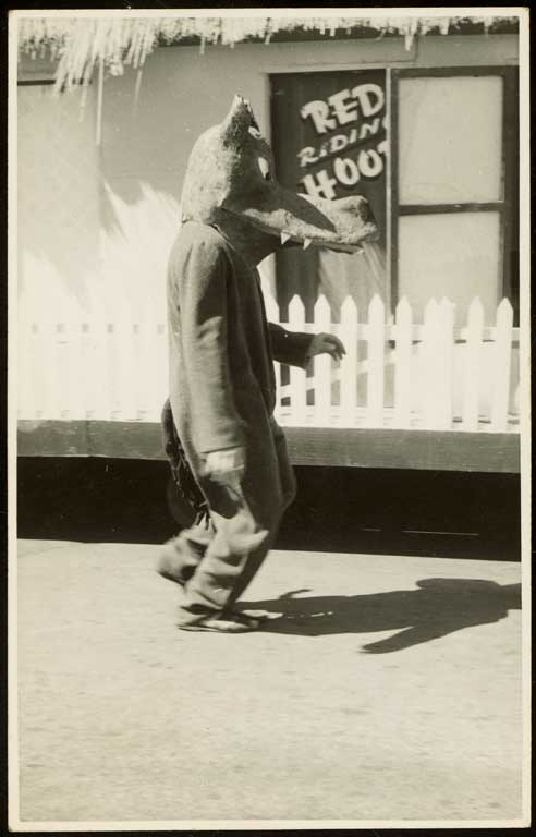 Red Riding Hood Wolf: Hay's Ltd Christmas Pageant, c. 1950