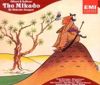 Cover of The Mikado sound recording