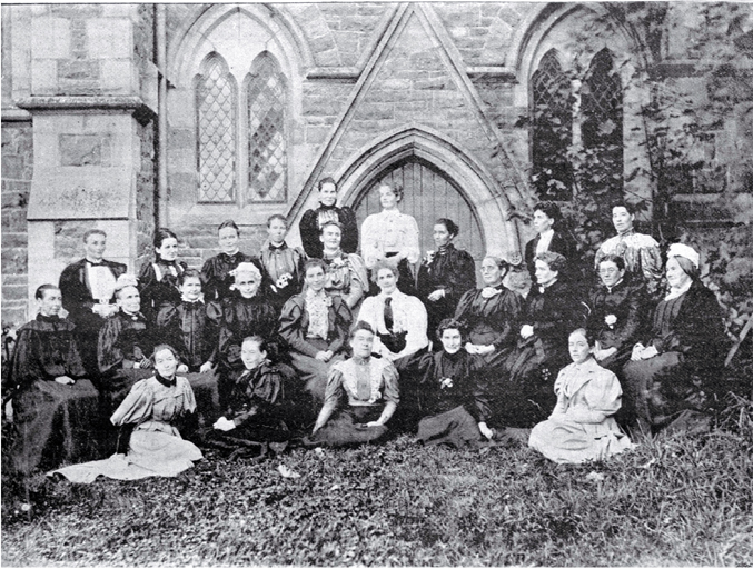 The convention called by the Canterbury Women's Institute which resulted in the formation of the National Council of the Women of New Zealand [1896], CCL PhotoCD 8, IMG0086