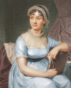 Jane Austen coloured version