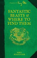 Cover of Fantastic beasts and where to find them