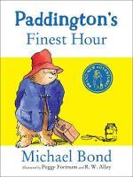 Cover of Paddington's finest hour