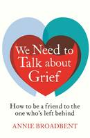 Cover of We need to talk about grief