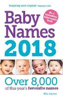 Cover of Baby names 2018
