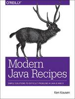 Cover of Modern Java recipes
